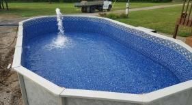 12x24 Above Ground Pool Installation