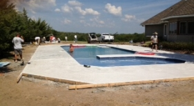 Pool Building Process