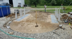 12x24 Above Ground Pool installation